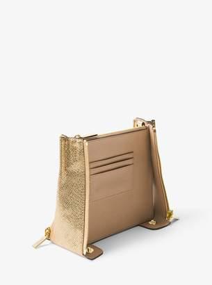 MICHAEL Michael Kors Design A Mercer Textured Leather Center Divider
