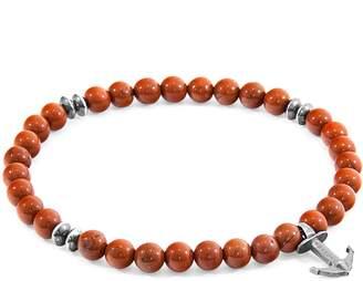 ANCHOR & CREW - Red Jasper Starboard Natural Stone Bracelet