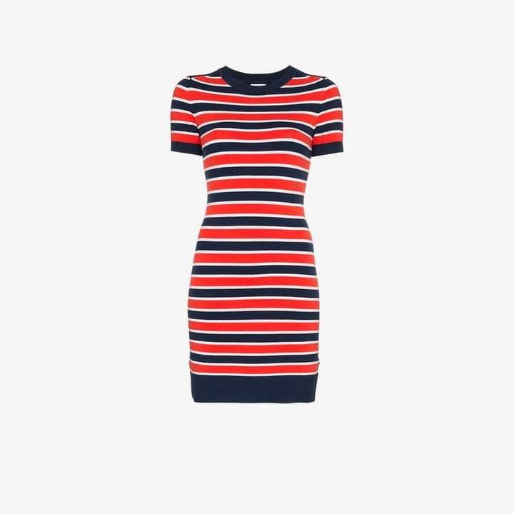 Joostricot JoosTricot marine stripe short sleeve dress
