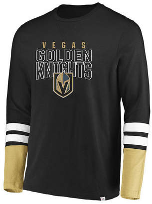 Majestic Men Vegas Golden Knights 5 Minute Major Long Sleeve T-Shirt