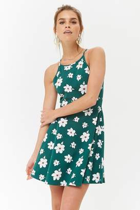 Forever 21 Floral Fit & Flare Dress