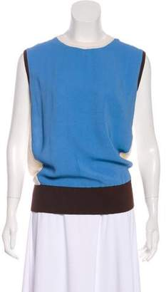 Reed Krakoff Colorblock Knit Top