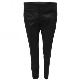 Gucci Black Cloth Trousers