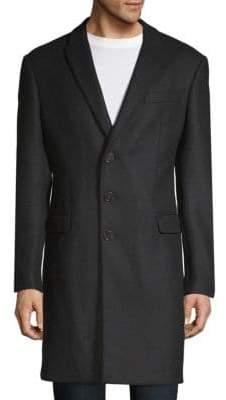 Armani Collezioni Textured Long Coat