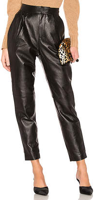 L'Academie The Bisous Leather Pant
