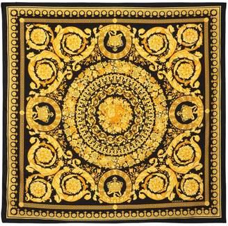 Versace Baroque Print Silk Scarf
