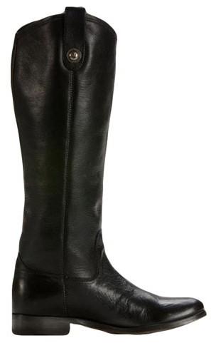 Frye Melissa Button Boot in Black