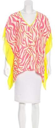 Alice & Trixie Silk Printed Top