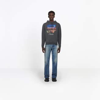 Balenciaga Paris printed hoodie sweater