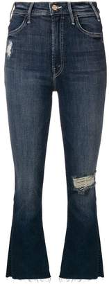 Mother Close to the Edge cropped jeans