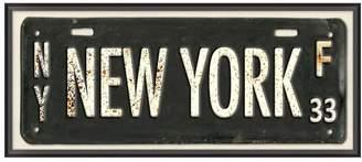 Pottery Barn Teen New York Framed Art