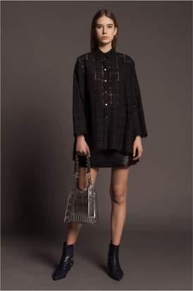 Sonia Rykiel Broderie Anglaise Oversized Shirt