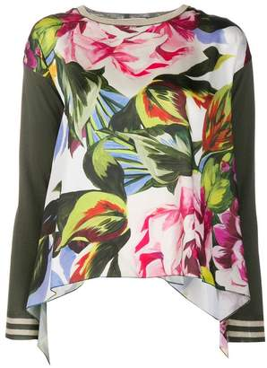 Blugirl floral print knitted top