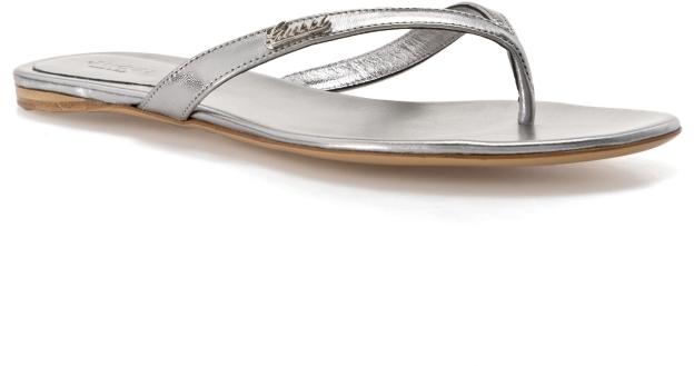 Gucci Metallic Flip Flop 247537