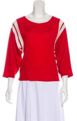 MM6 MAISON MARGIELA Casual Long Sleeve Top