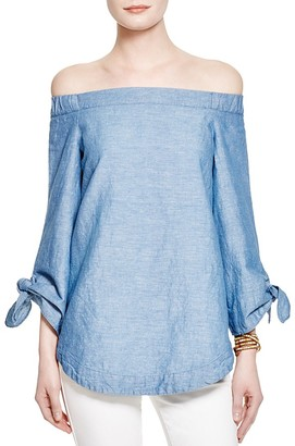 Free People Show Some Shoulder Tunic Top $78 thestylecure.com