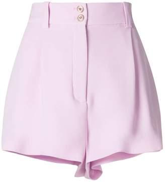 Versace high-waisted shorts