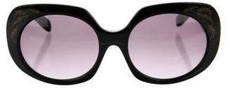 Zac Posen Dovina Square Sunglasses