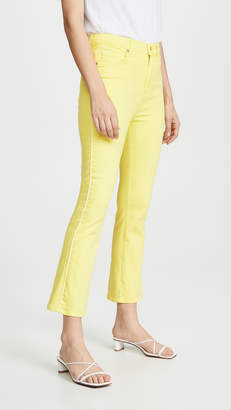 7 For All Mankind High Waisted Slim Kick Jeans with Piping