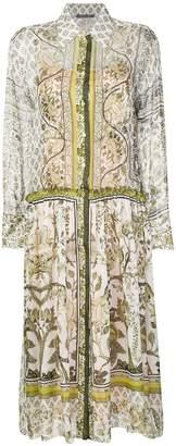 Alberta Ferretti printed shirt dress