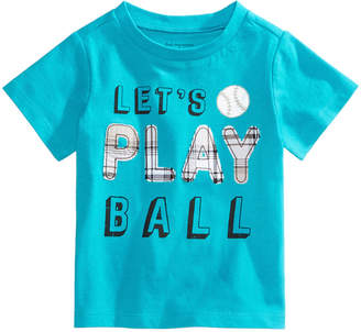 First Impressions Graphic-Print Cotton T-Shirt, Baby Boys, Created for Macy's