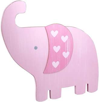 NoJo Little Love by Separates Collection 6 Piece Elephant Shaped Wall Art