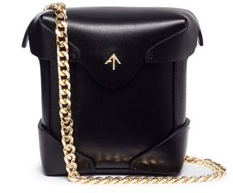 Atelier MANU 'Pristine' micro leather crossbody bag