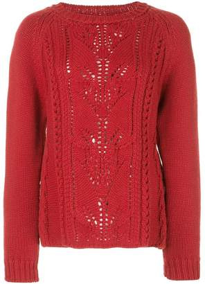 cecaae31cd Red Wool Cashmere Blend Knitwear For Women - ShopStyle UK