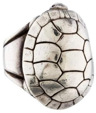 Kieselstein-Cord Turtle Ring