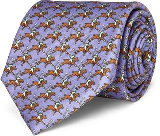 Ralph Lauren Polo Player Silk Narrow Tie