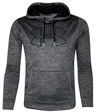 Under Armour Men's Storm Fleece Big Logo Hoodie Athletic Hooded Shirt Heather (XL, )
