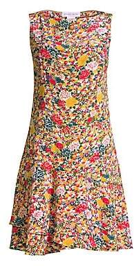 Etro Women's Micro Floral Fit-&-Flare Dress