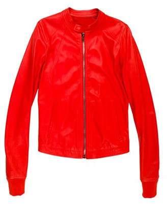 Rick Owens Leather Moto Jacket w/ Tags