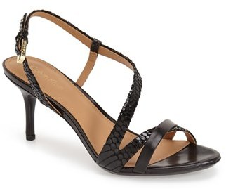 Women's Calvin Klein 'Lorren' Leather Sandal $98.95 thestylecure.com