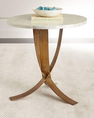 Bernhardt Meir Capiz-Shell Side Table