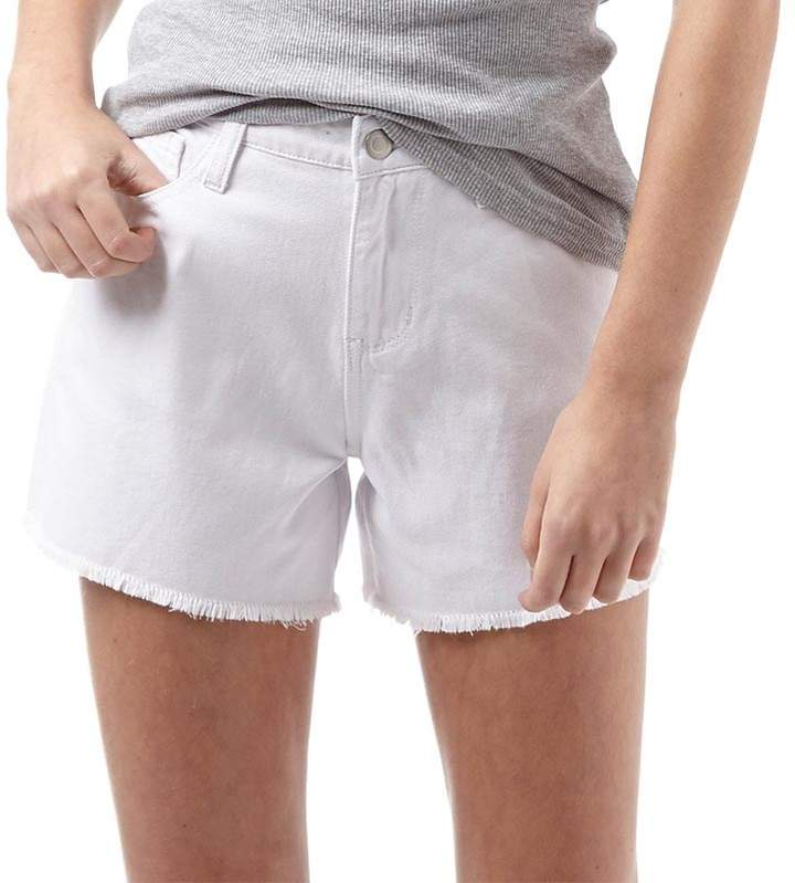 Fluid Damen Shorts Weiß