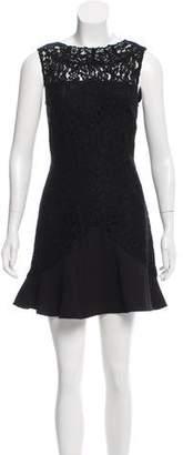 Karl Lagerfeld Lace Mini Dress