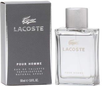 Lacoste Pour Homme Eau de Toilette Spray, 1.6 oz./ 47 mL