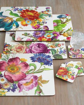 Mackenzie Childs Four Flower Market Placemats