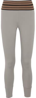 Vix Olympia Activewear Stretch Leggings - Silver