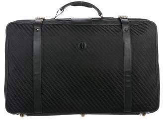 Gucci Vintage GG Canvas Luggage