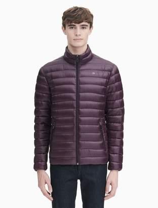 Calvin Klein down packable puffer jacket