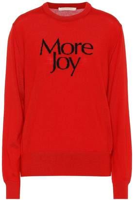 Christopher Kane More Joy printed cotton sweatshirt