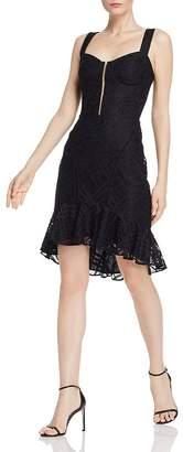 WAYF Adilyn High/Low Lace Dress