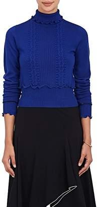 3.1 Phillip Lim Women's Mixed-Stitch Wool-Blend Turtleneck Sweater