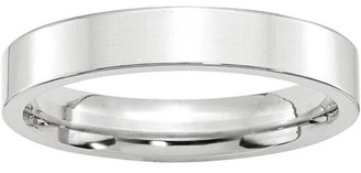 Generic 10KW 4mm Standard Flat Comfort Fit Band Size 7