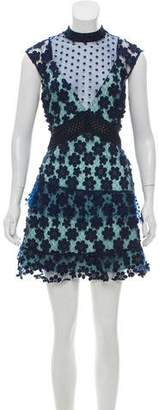 Self-Portrait Sleeveless Mini Dress