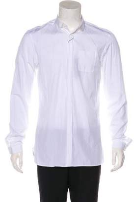 Burberry Woven Dress Shirt w/ Tags