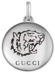 "Gucci ""Blind For Love"" charm in silver"