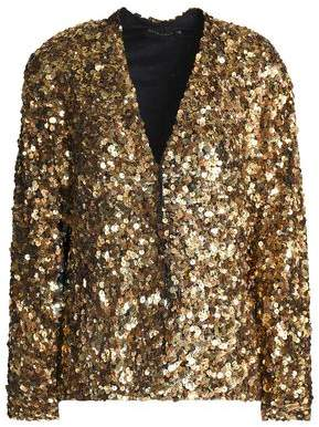 Antik Batik Sequined Mesh Jacket